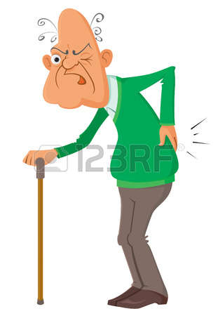 38579629-elderly-man-suffering-from-a-pain-vector-illustration