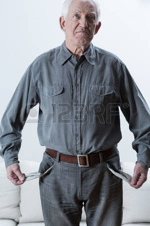 40570798-sad-elderly-poor-man-standing-with-empty-pockets